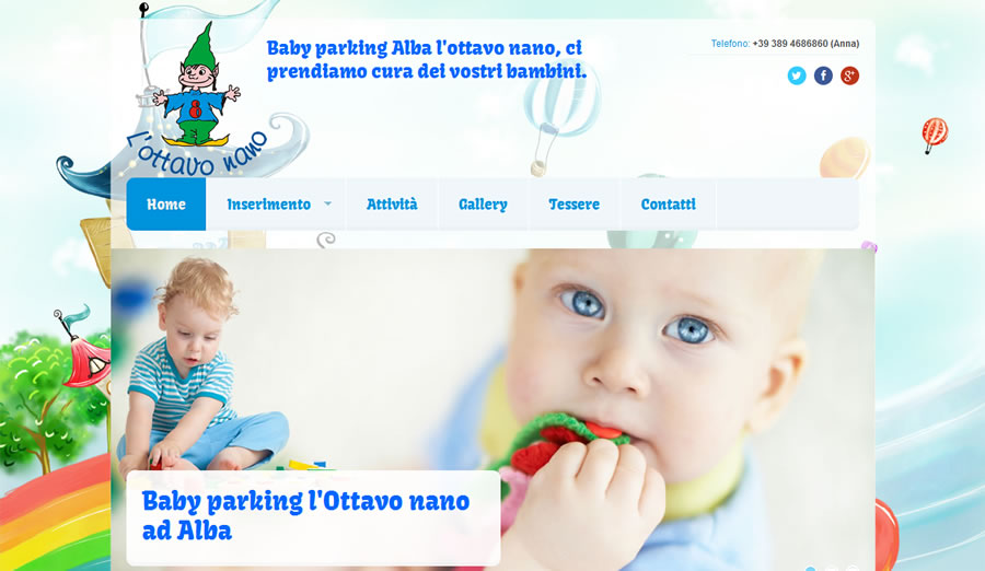 Baby parking Alba l'ottavo nano